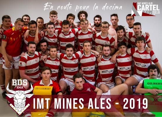 Equipe de rugby IMT Mines Alès